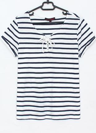 Полосатая футболка tom tailor