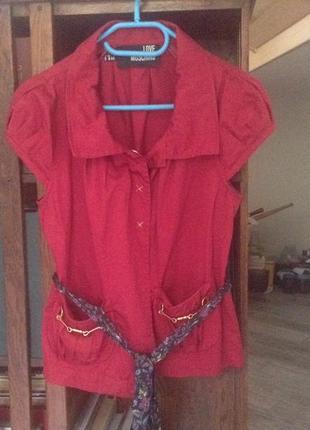 Необычная блуза love moschino