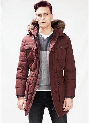 Зимний мужской теплый пуховик куртка xxl mango оригинал