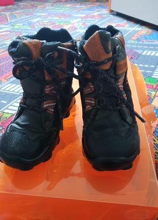 Зимние ботинки с gore tex