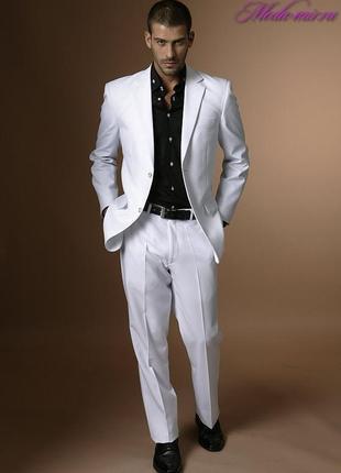 Этот классический костюм,придаст вашему образу шарма на любом торжестве. стиль италия.