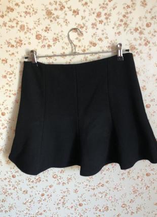 Короткая юбка годе от zara