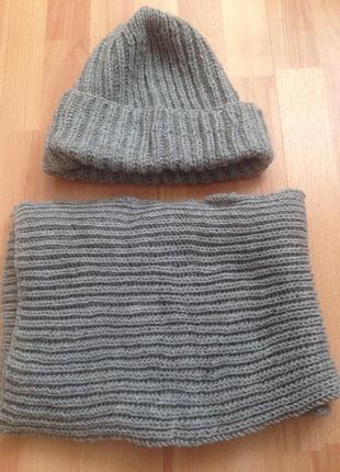Комплект такори (шапка+шарф)