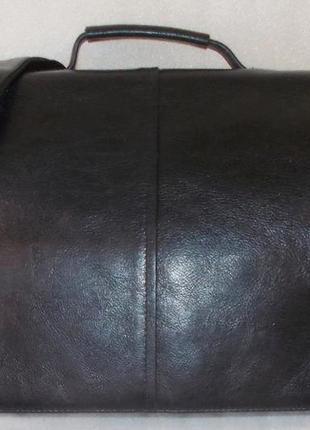 Большая мужская сумка (портфель) натуральная кожа