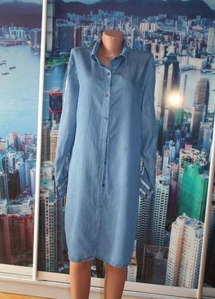 Платье тонкий джинс 100 % котон