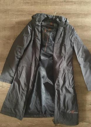 Удлинённая куртка cop. copine р40