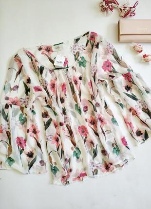 Цветочная блуза wallis