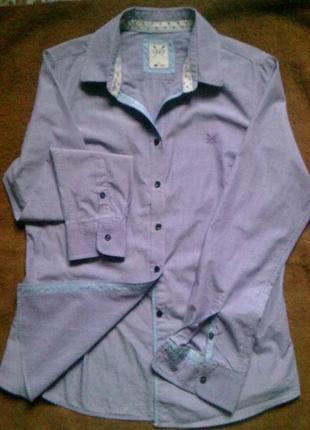 100%хлопок блуза  crew clothing