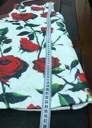 Платье в розы2 фото