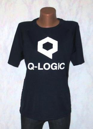 Стильная футболка от q-liogic размер: 48-l