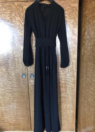 Платье в пол mango suit l