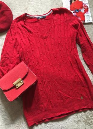 Красний свитер gina tricot
