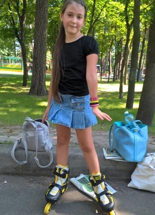 Джинсовая юпка 5-7 лет