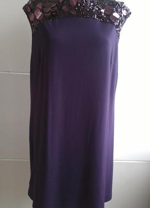 Нарядное платье с паетками coast