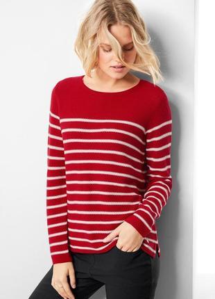 Хлопковый вязаный пуловер тсм чибо.германия.евро 36-38 наш 42-44