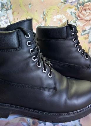 Ботинки зимние по типу timberland