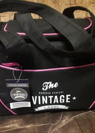 Спортивная сумка vintage label