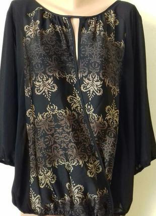 Красивая блуза с принтом wallis