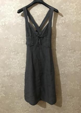 Сарафан, платье миди max mara
