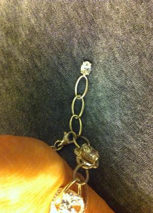 Комплект браслет и кольцо серебро 9253 фото