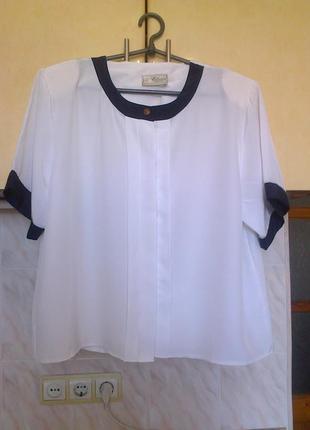 Новая фирменая блуза, скрытая застежка, идеально в офис и на учебу