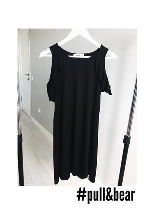 Чёрное короткое платье / чорна сукня плаття коротке