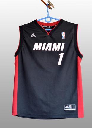 Женская баскетбольная майка adidas miami (bosh)