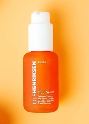 Сыворотка для лица ole henriksen truth serum ® collagen booster с витамином с и коллагеном