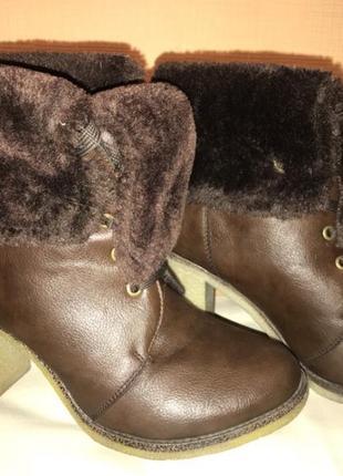 Женские зимние ботинки -трансформеры
