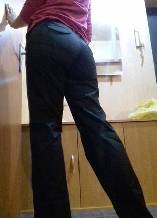 Манго mango брюки черные  mng штаны клпссика