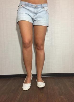 Женские джинсовые шорты lee cooper