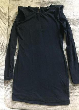 Черное платье со змейкой на спине от ax paris