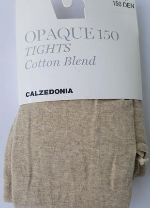 Колготки теплый хлопок 150 ден calzedonia
