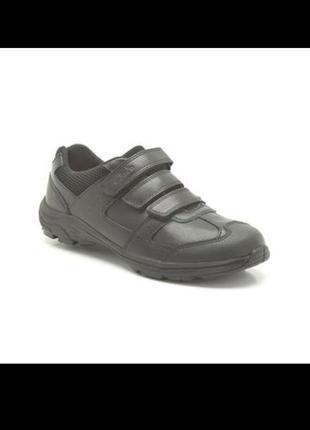 Clarks air lesson кожаные школьные туфли