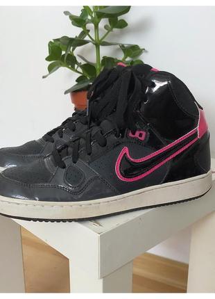 Кожаные кроссовки nike pp 39