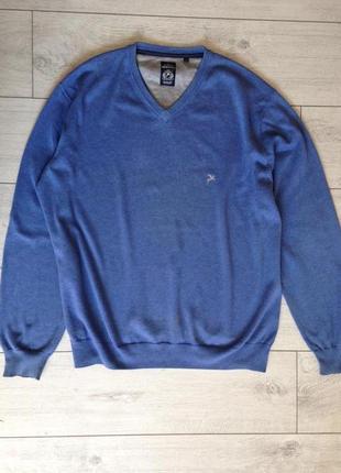 Мужской джемпер свитер размер 50-52 или хл. фирма montino/котон+шерсть