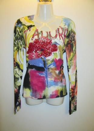 Коттоновый свитер италия