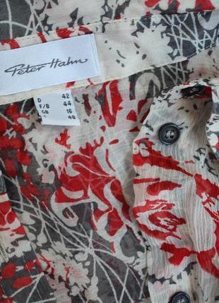 Шелковая блуза peter hahn