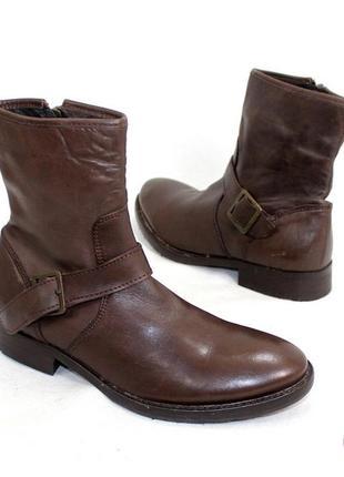 Ботинки 40 р minelli франция кожа оригинал демисезон