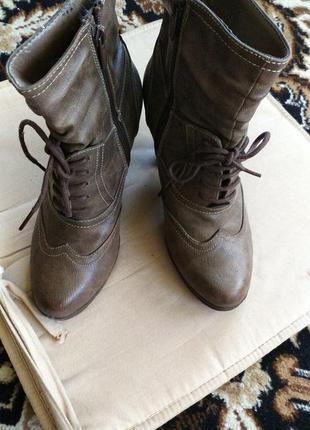 Класнючие деми ботинки,  фирмы jennifer