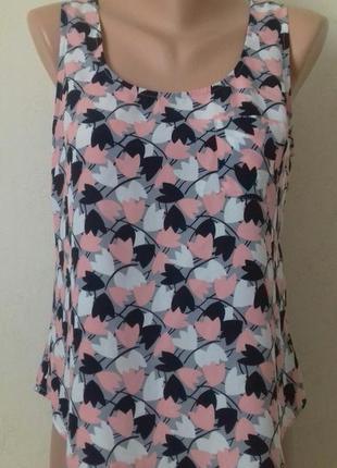 Красивая блуза с принтом oasis