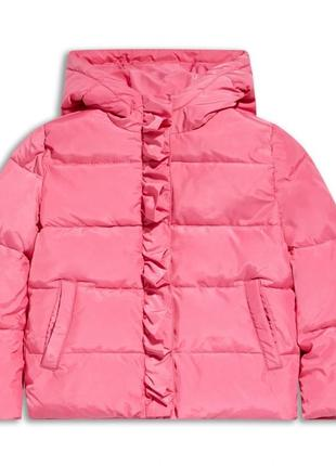 Зимняя розовая куртка для девочки, sugar squad, 12500927