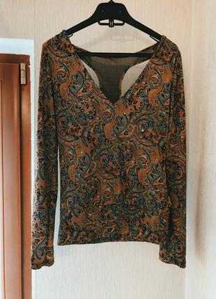 Невероятно красивая блуза италия