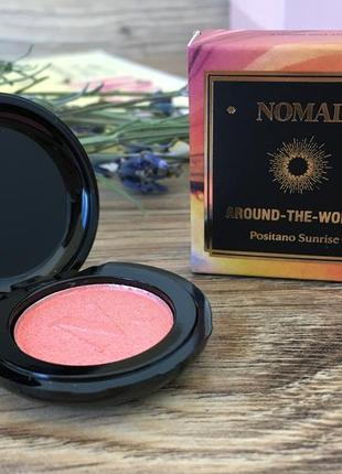 Румяна nomad around-the-world blush light infusion powder2