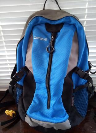 Рюкзак campus horton 30 серый/голубой