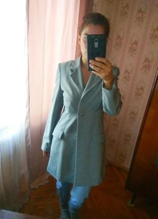 Удлиненный пиджак,пальто h&m