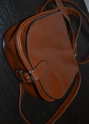 Лакированная кож сумочка atm