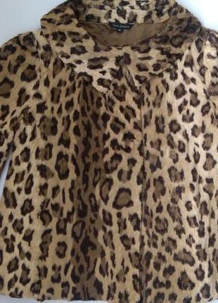 Леопардовая шубка \ накидка
