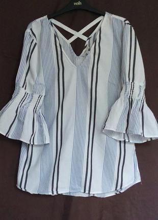 Блуза в полоску