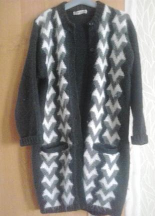 Продам вязаное пальто